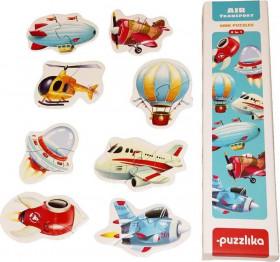 Puzzle 16 piese, Transport aerian, Cubika