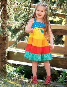 Rochie din bumbac organic - Rainbow, Frugi
