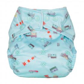 Scutec textil refolosibil cu buzunar Baba+Boo Harbour