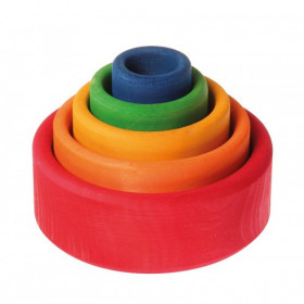 Set de boluri, multicolor SPIEL GUT - Grimm's Spiel und Holz Design