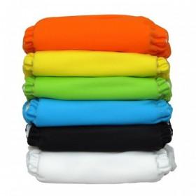 Set economic 6 scutece textile refolosibile Charlie Banana din bumbac organic cu inserturi de cânepă - Tango Mango