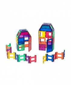 Set Playmags - 48 de piese magnetice de construcție