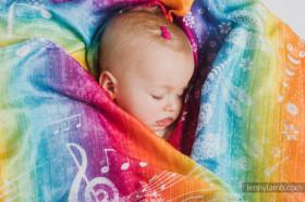 Swaddle Wrap Lennylamb, Symphony Rainbow Light