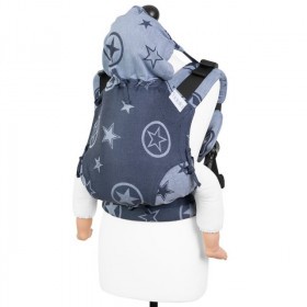 Toddler Size: Fidella Fusion 2.0 Full Wrap Conversion; Outer Space Blue