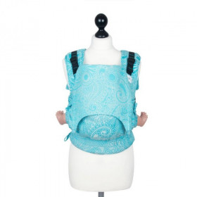 Toddler Size: Fidella Fusion Full Wrap Conversion, Masala Scuba Blue (Transport Gratuit)