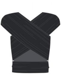 Wrap elastic Manduca, Black