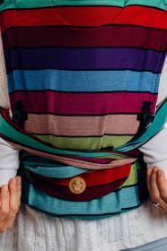 WrapTai LennyHybrid Half Buckle, Carousel of Colors