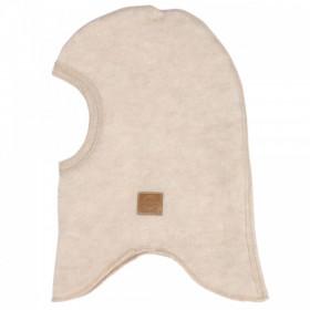 Cagula Mikk-line din fleece lână merinos - Melange Offwhite