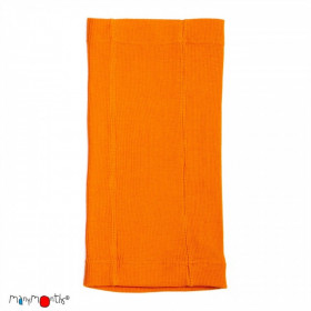 Esarfa ManyMonths Kid MultiTube lână merinos - Festive Orange