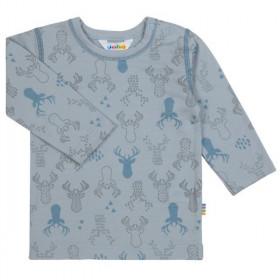 Bluza Joha lână merinos extra fina - Elk Blue Fog