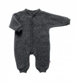 Overall Joha fleece lână merinos - Grey
