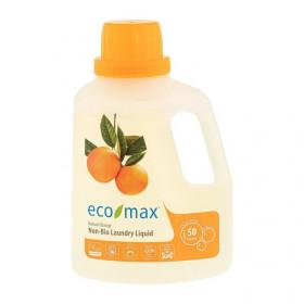 Detergent concentrat rufe cu portocala, Ecomax, 1.5 L (50 spalari)