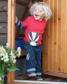 "Bluza bursucul ""Boris"" (bumbac organic), Frugi (6-12 luni)"