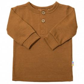 Bluză din lână merinos Joha - Single Wool Rusty
