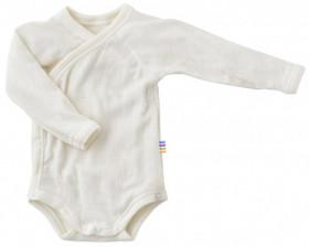 Body kimono Joha lână merinos - Basic White
