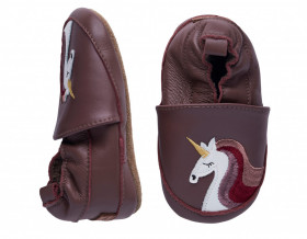 Botosei din piele pentru interior - Unicorn, Melton