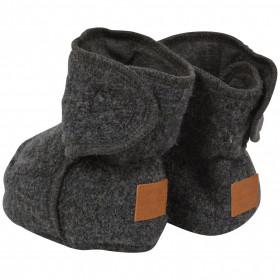 Botosei lână fiartă boiled wool Mikk-line - Grey Melange