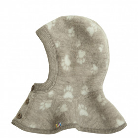 Cagula dublata Joha lână merinos fleece - Footprint Sesame