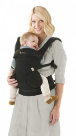 Ergobaby Carrier 4 pozitii 360 - PURE BLACK