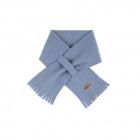 Fular din lână merinos fleece Pure Pure - Dusty Blue