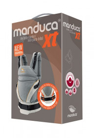 Manduca XT Grey Orange - Marsupiu Ergonomic