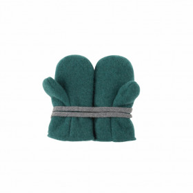 Mănusi Pure Pure lână organică fleece - Smoke Green