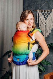 Marsupiu Ergonomic, Lenny Upgrade, RAINBOW BABY