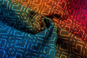 Marsupiu ergonomic LennyGo Toddler, Big Love Rainbow Dark