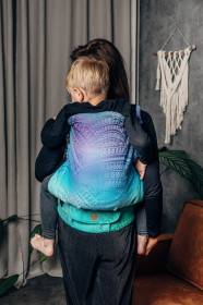 Marsupiu ergonomic LennyPreschool, Peacock's Tail Fantasy