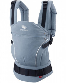 Marsupiu Ergonomic, Manduca First, PureCotton SkyBlue