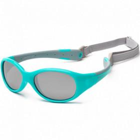 Ochelari de soare KOOLSUN, 3-6 ani - Flex - Aqua Grey