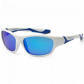 Ochelari de soare KOOLSUN, 6-12 ani - Sport- White Royal Blue