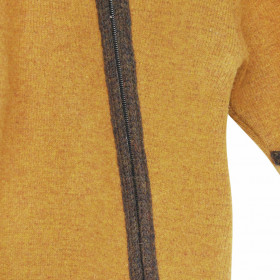 Overall din lână fiartă cu mănuși și botoșei, Stapf - Gold/Chestnut