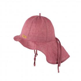 Pălărie ajustabilă Pure Pure din in - Cassis