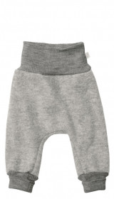 Pantaloni bloomers Disana lână organica boiled wool - Grey