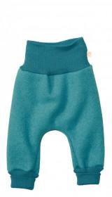 Pantaloni bloomers Disana lână organica boiled wool - Lagoon