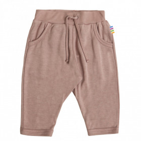 Pantaloni Joha din bambus - Pink Pinwheel