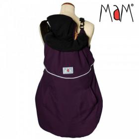 Protectie de iarna MaM Deluxe FLeX Grape/Black + Cagula ajustabila