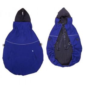 Protectie de iarna marsupiu MaM Deluxe - Night Sky/Black + Cagula ajustabila