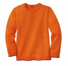 Pulover lână merinos Disana - Orange