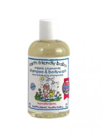 Sampon si gel de dus musetel (0-3ani), Earth Friendly Baby