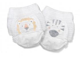 Scutece Hipoalergenice Eco Kit&Kin Pull Up Junior, Marimea 5, 12-17 kg, 20 buc