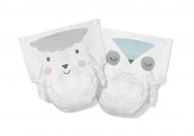 Scutece Hipoalergenice Eco Kit&Kin, Marimea 1, 2-5 kg, 40 buc