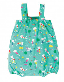Summersuit din bumbac organic - Fun At The Games, Frugi
