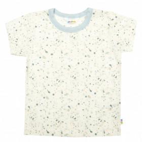 Tricou Joha lână de vară - Blue Splash