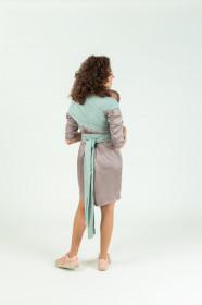 Wrap elastic Isara - Frosty Green