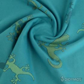 Wrap tesut, portbebe , Didymos - Geckos Emerald size 4 (3,7 m)