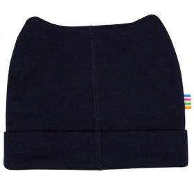 Caciula dublata Joha (beanie) lână merinos - Heavy Single Wool Navy
