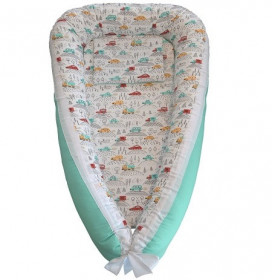 Baby Nests din bumbac - Cars