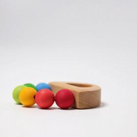 Barcuta curcubeu pentru bebelusi, Grimm's Spiel und Holz Design